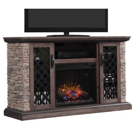 Stone Electric Fireplace Tv Stand Classicflame Capitan Stone Media Mantel Electric Fireplace With