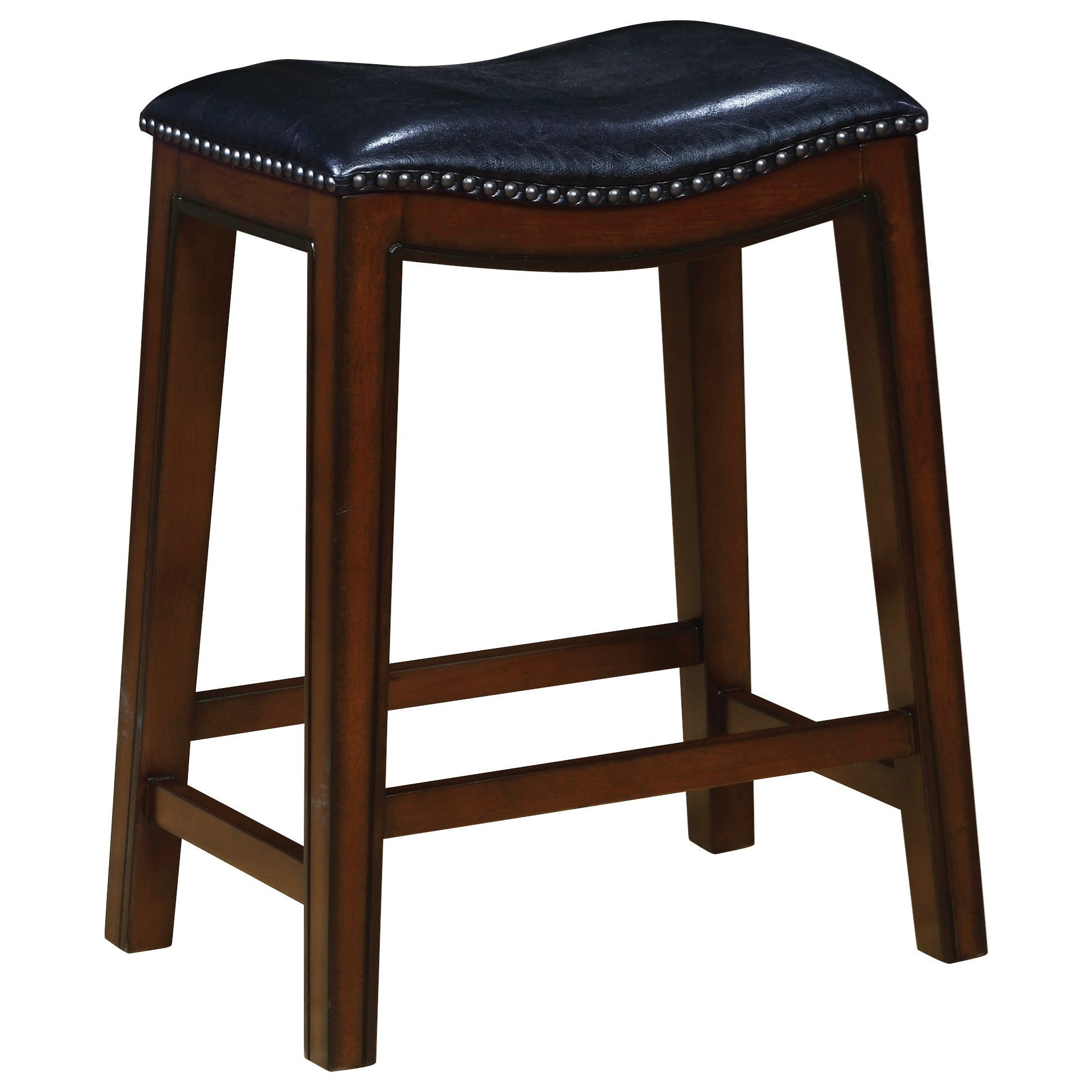 Bar Stool Chairs Dining Chairs And Bar Stools Backless Counter Height Stool With Nailhead Accents By Coaster At Miskelly Furniture