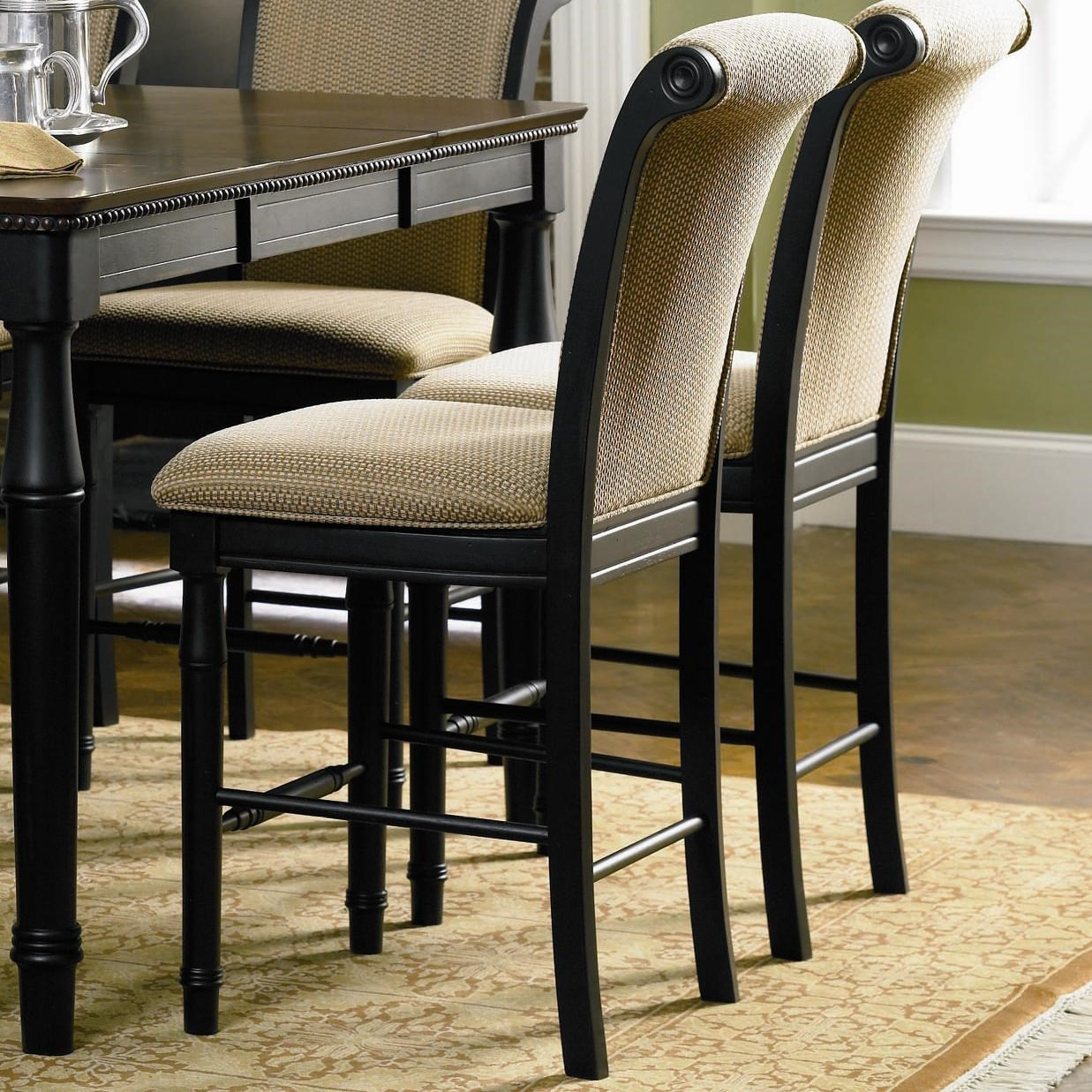 Fabric Counter Height Bar Stools Fine Furniture Cabrillo 101829 Counter Height Chair With Fabric