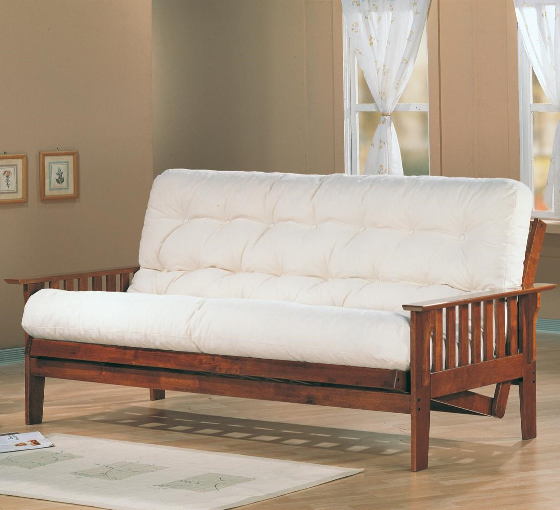 Futon Factory Futons Casual Futon Frame With Slat Side Detail By Coaster At Northeast Factory Direct