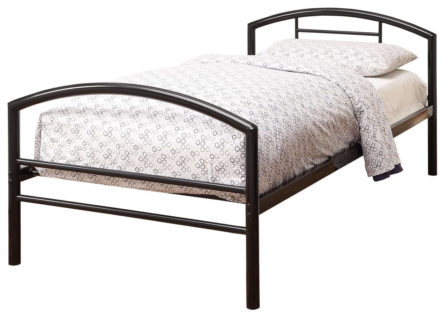 Metal Bed Headboards Iron Beds And Headboards Twin Baines Metal Bed By Coaster At Dunk Bright Furniture
