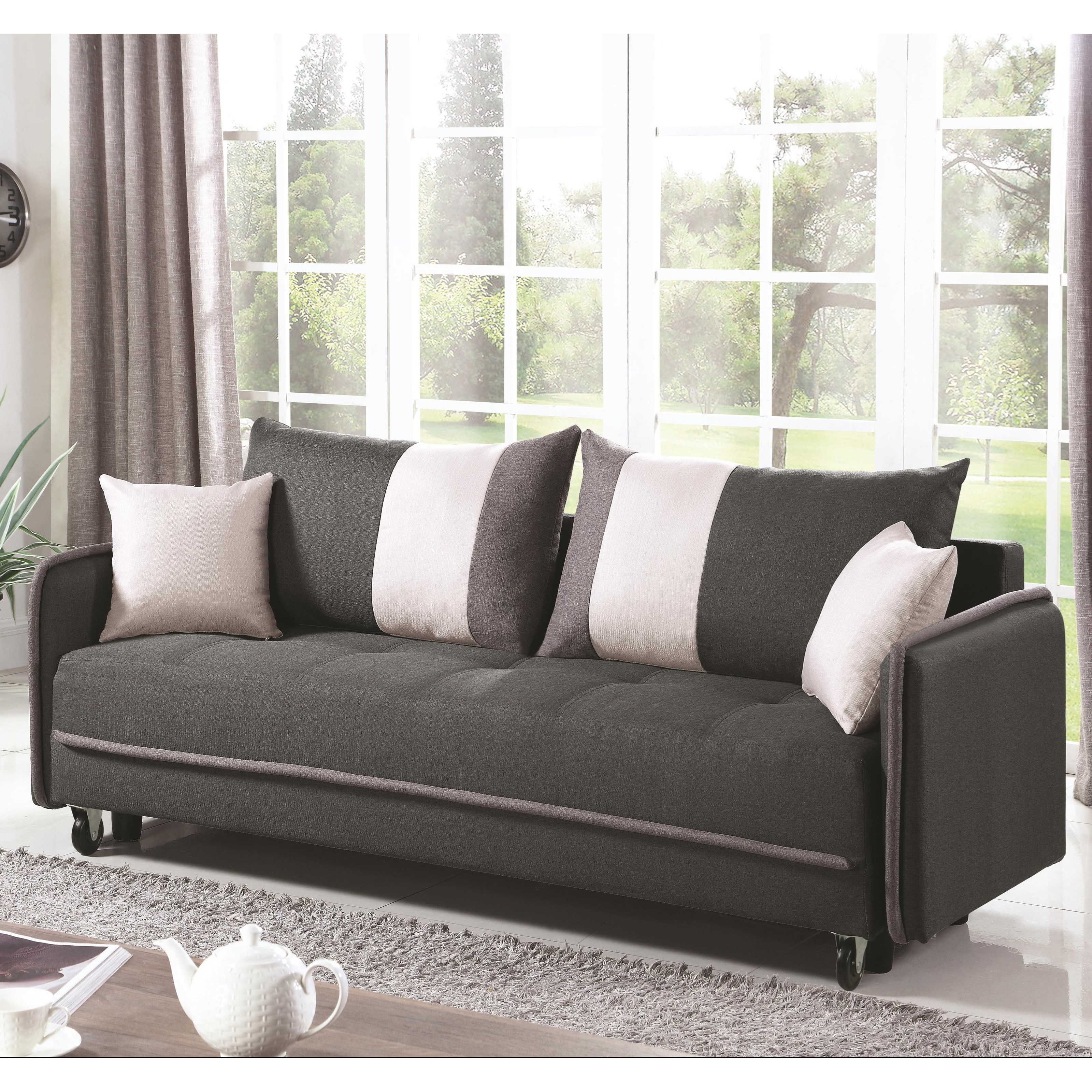 Futon Schlafsofa Sofa Beds And Futons Casual Convertible Sofa By Coaster At Prime Brothers Furniture