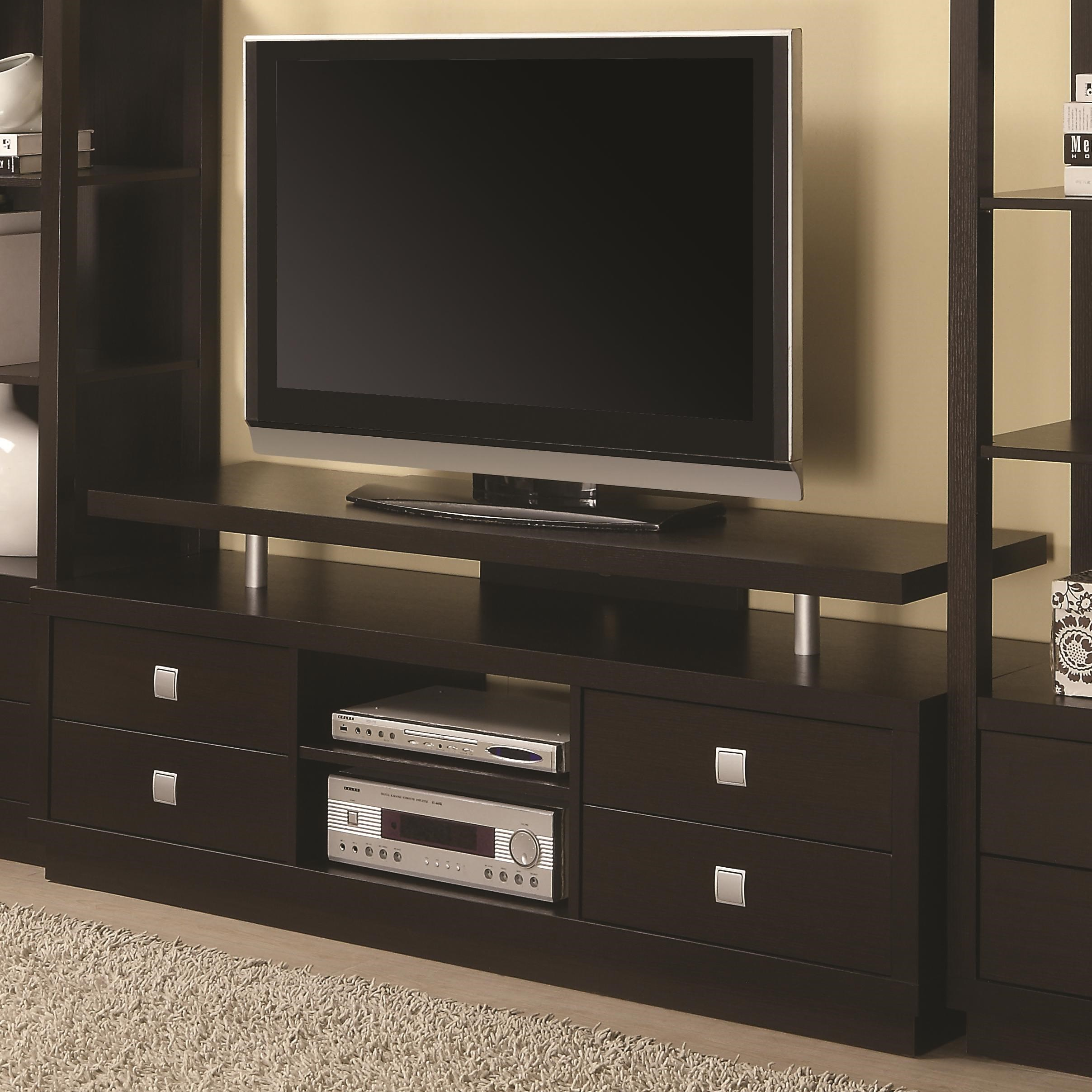 Tv Units Entertainment Units Casual Tv Console By Coaster At Value City Furniture