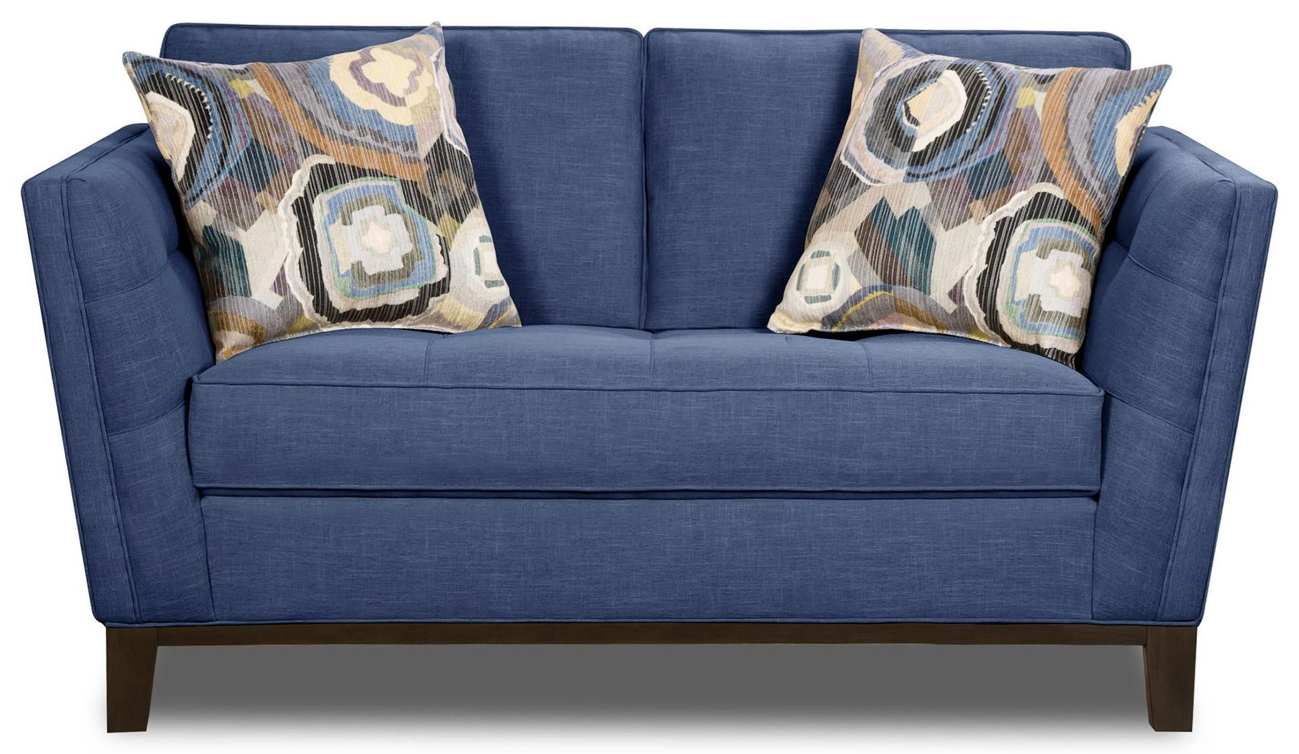 Two Sided Sofa Paradigm Admiral Loveseat By Corinthian At Great American Home Store