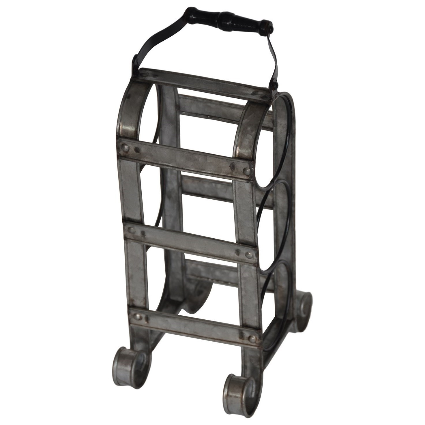 Decorative Metal Wine Racks Crestview Collection Decorative Accessories Metal Wine Tote