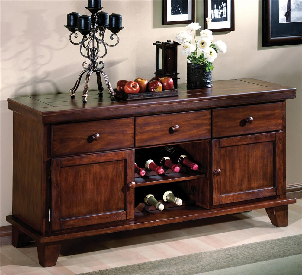 Buffet Sideboard With Wine Rack Sideboard With Wine Rack Bardstown By Crown Mark Wilcox