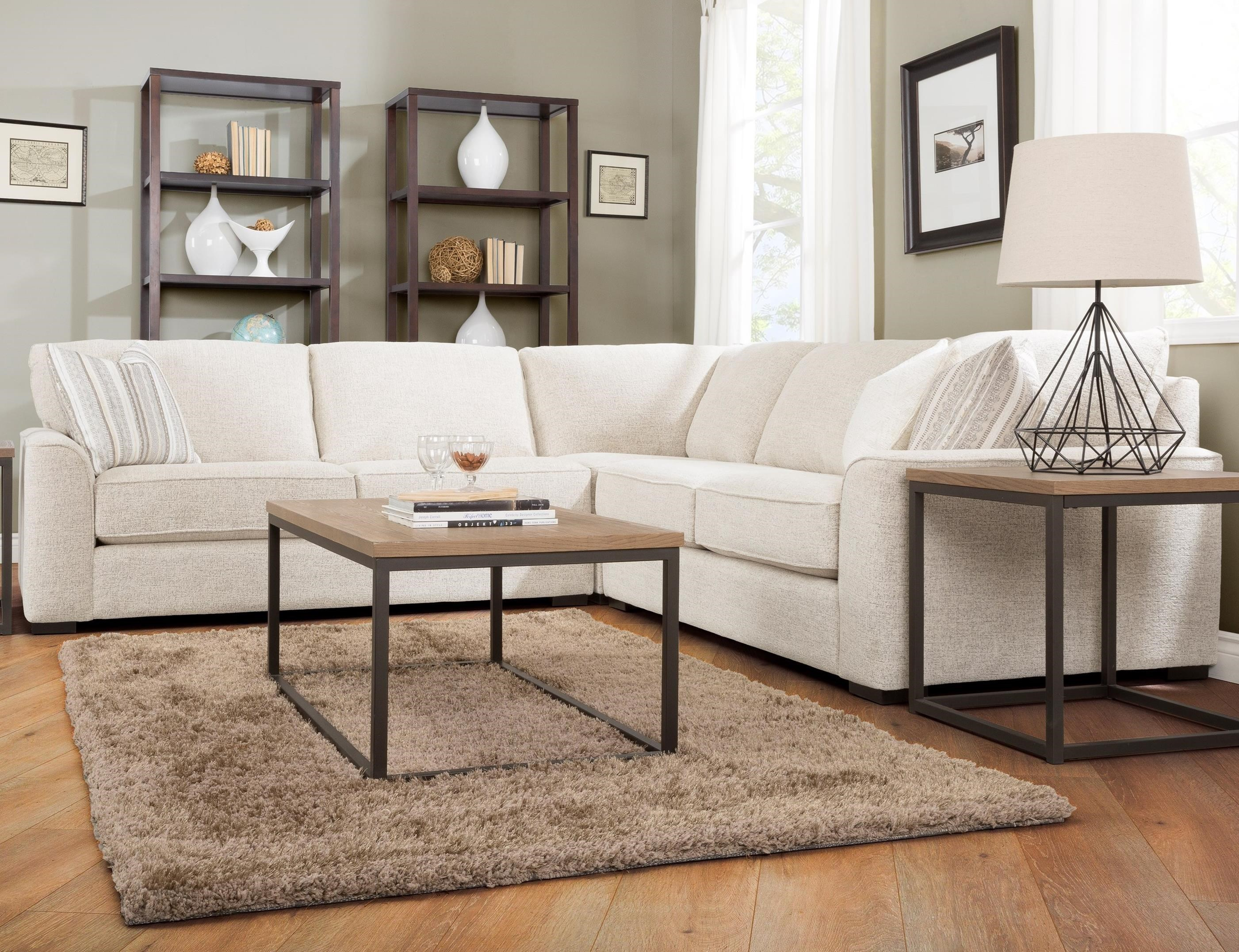 But Meubles Etna 2786 Three Piece Corner Sectional Sofa By Decor Rest At Stoney Creek Furniture
