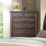 6 Drawer Chest Of Drawers Chatham Gray 6 Drawer Chest By Elements International At Zak S Home