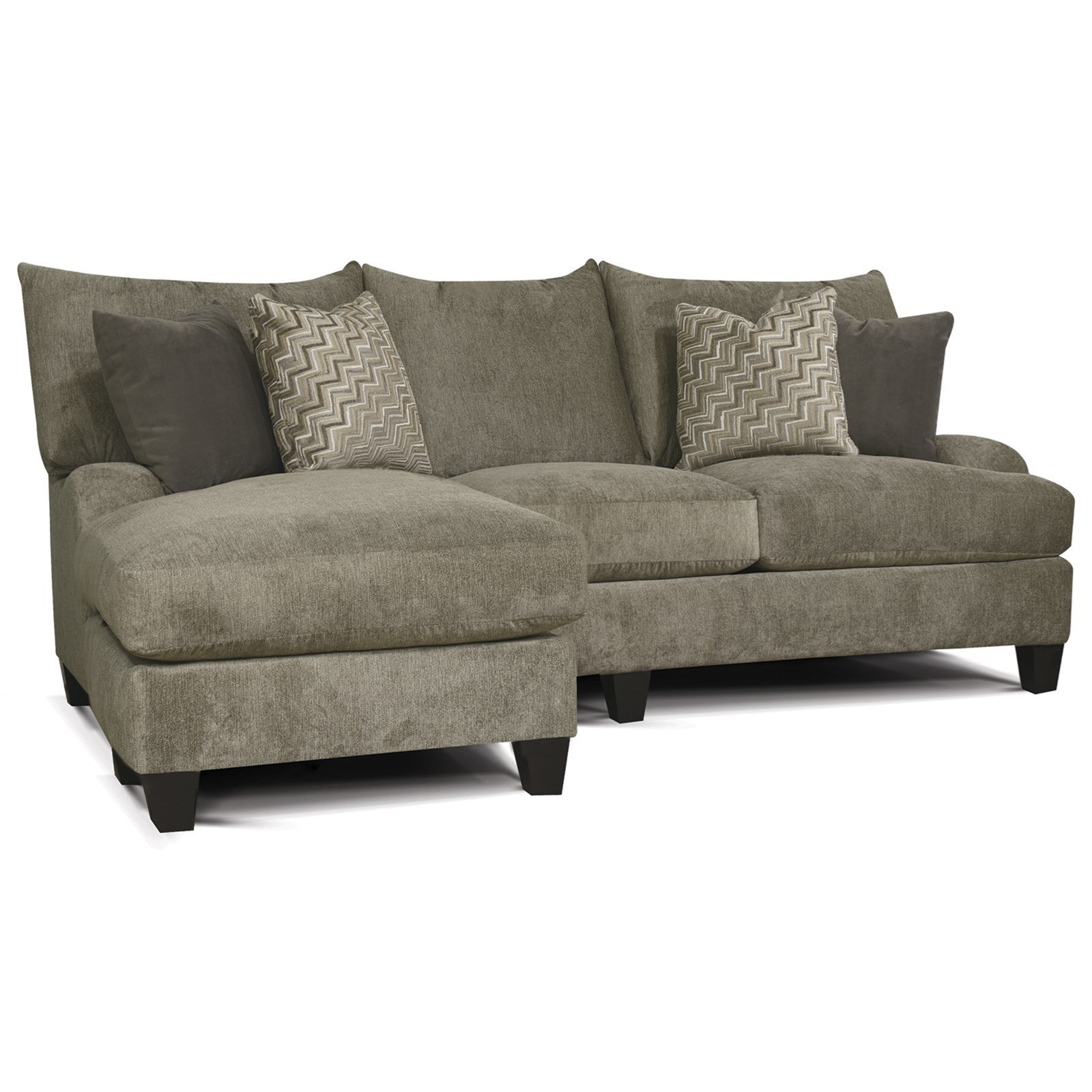 Otto Sale Sofa Catalina Contemporary Sofa With Floating Otto Chaise By England At Dunk Bright Furniture