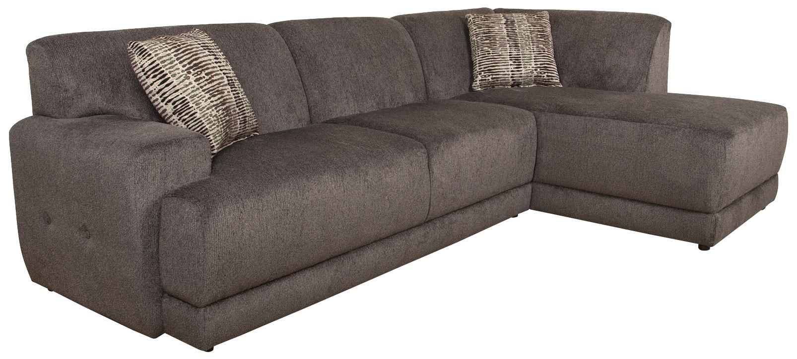 Sofa Foam Meaning Cole Contemporary Sectional Sofa With Right Facing Chaise By England At Dunk Bright Furniture