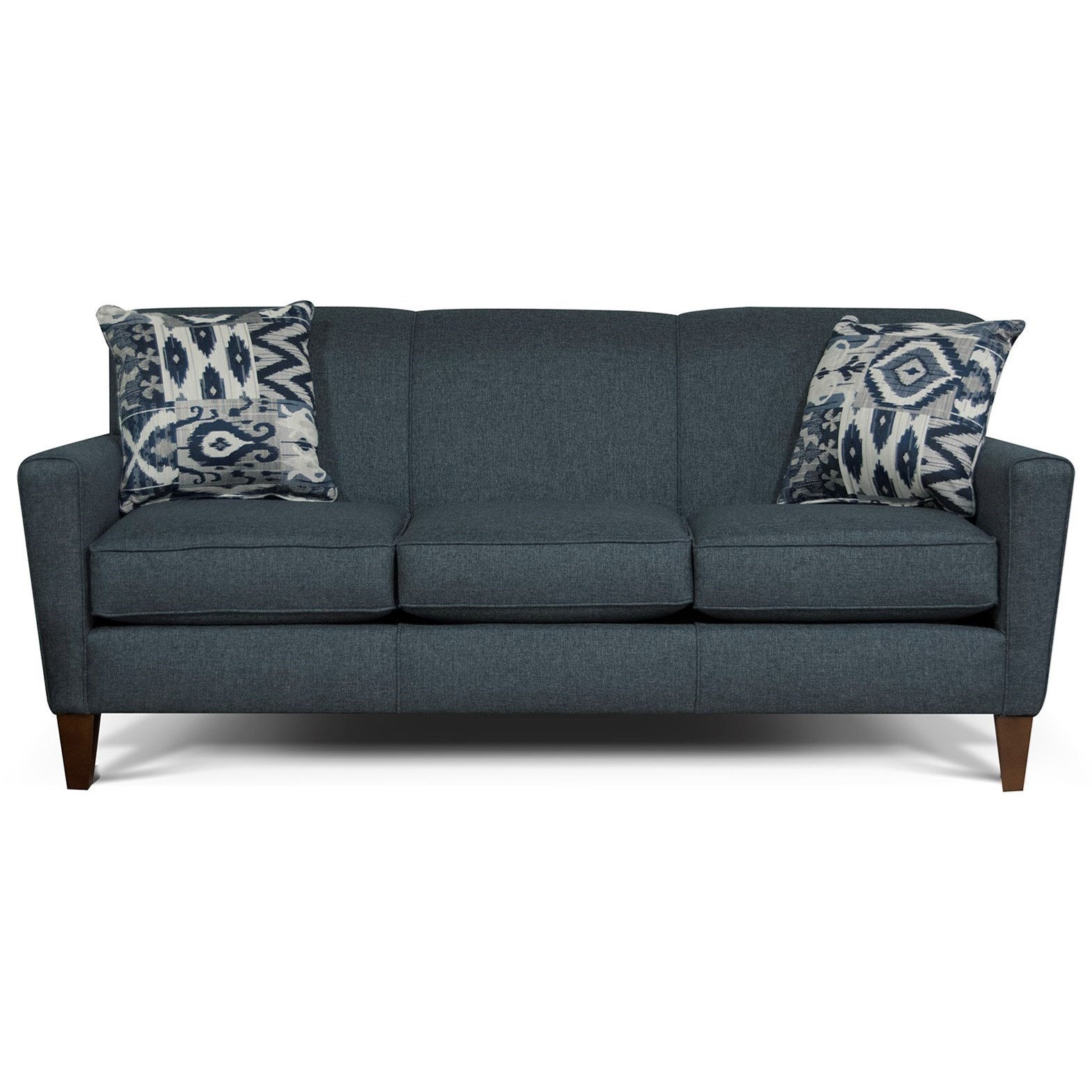 Sofa Outlet Paisley England Collegedale 6205 Contemporary Upholstered Sofa Efo