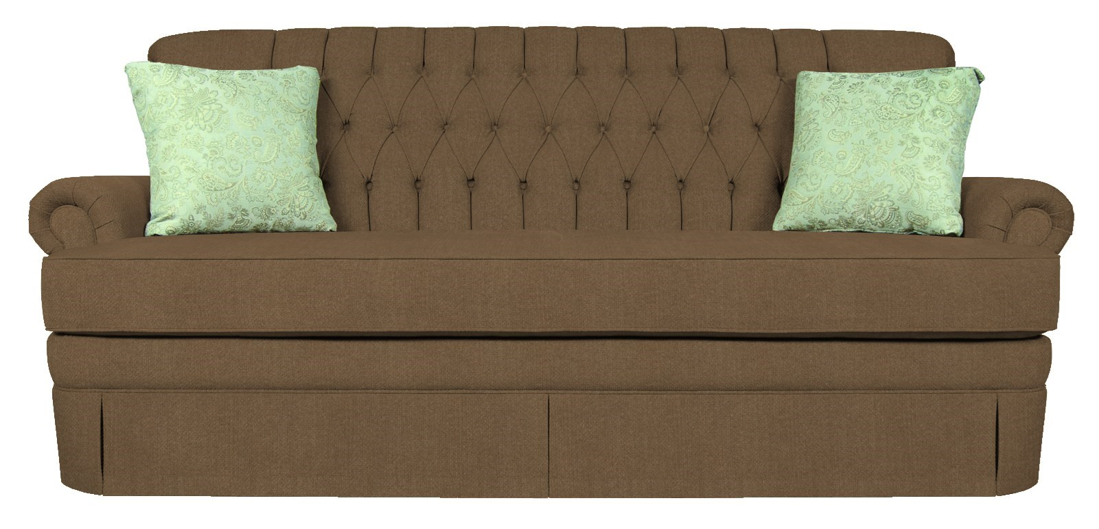 Sofa Outlet Paisley England Fernwood 1155 Sofa With Skirt Efo Furniture Outlet Sofas