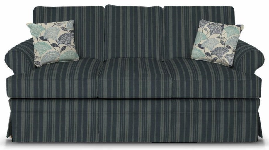 Sofa Grace Grace Stationary Sofa With Rolled Arms By England At Vandrie Home Furnishings