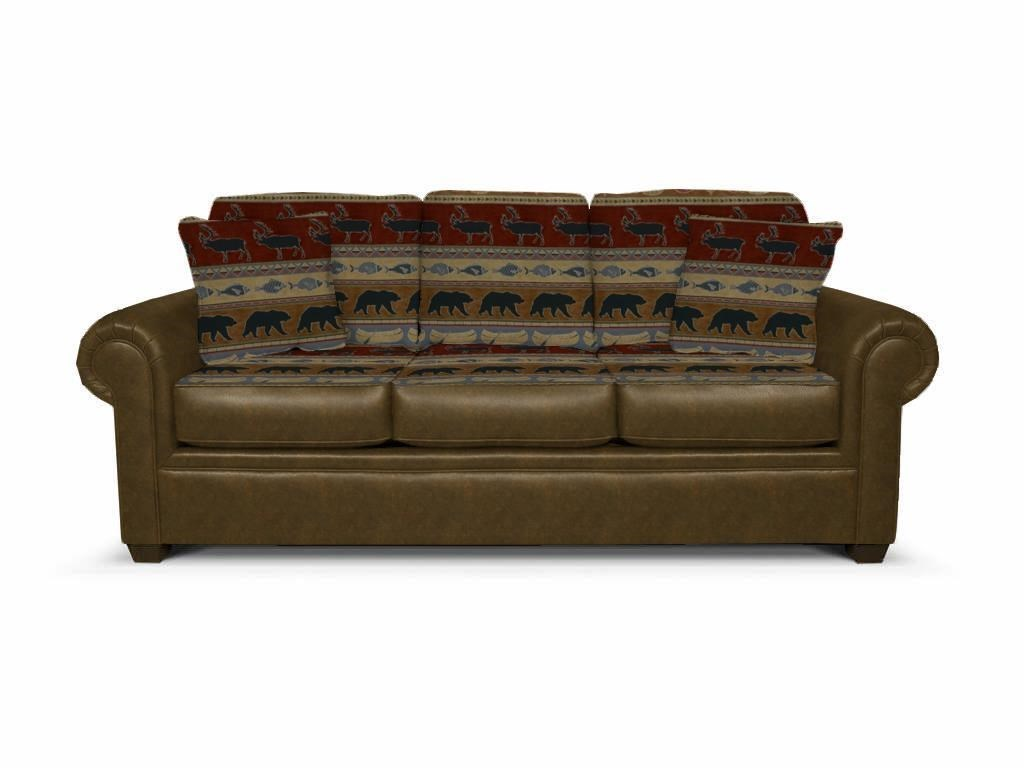 Big Sofa Back Cushions Jaden Stationary Sofa With Large Rolled Arms By England At Vandrie Home Furnishings