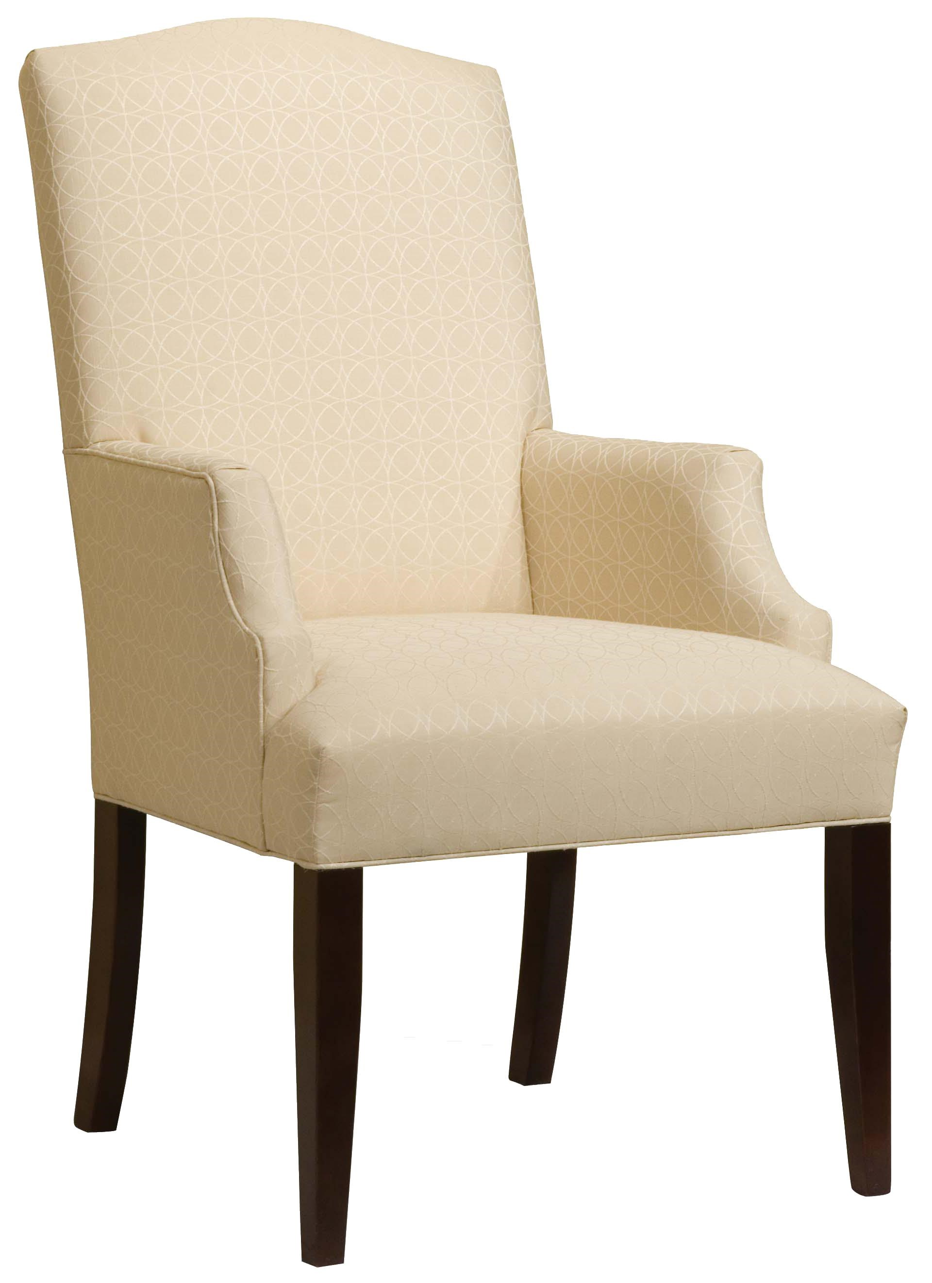 Accent Arm Chairs Chairs Upholstered Accent Arm Chair By Fairfield At Miller Home