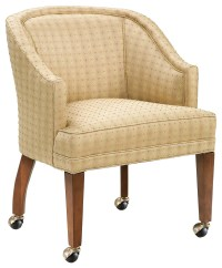 Fairfield Chairs Caster Wheel Accent Lounge Chair - Design ...