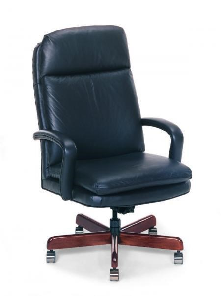 Desk Seat Office Furnishings Leather Executive Swivel Office Chair By Fairfield At Olinde S Furniture