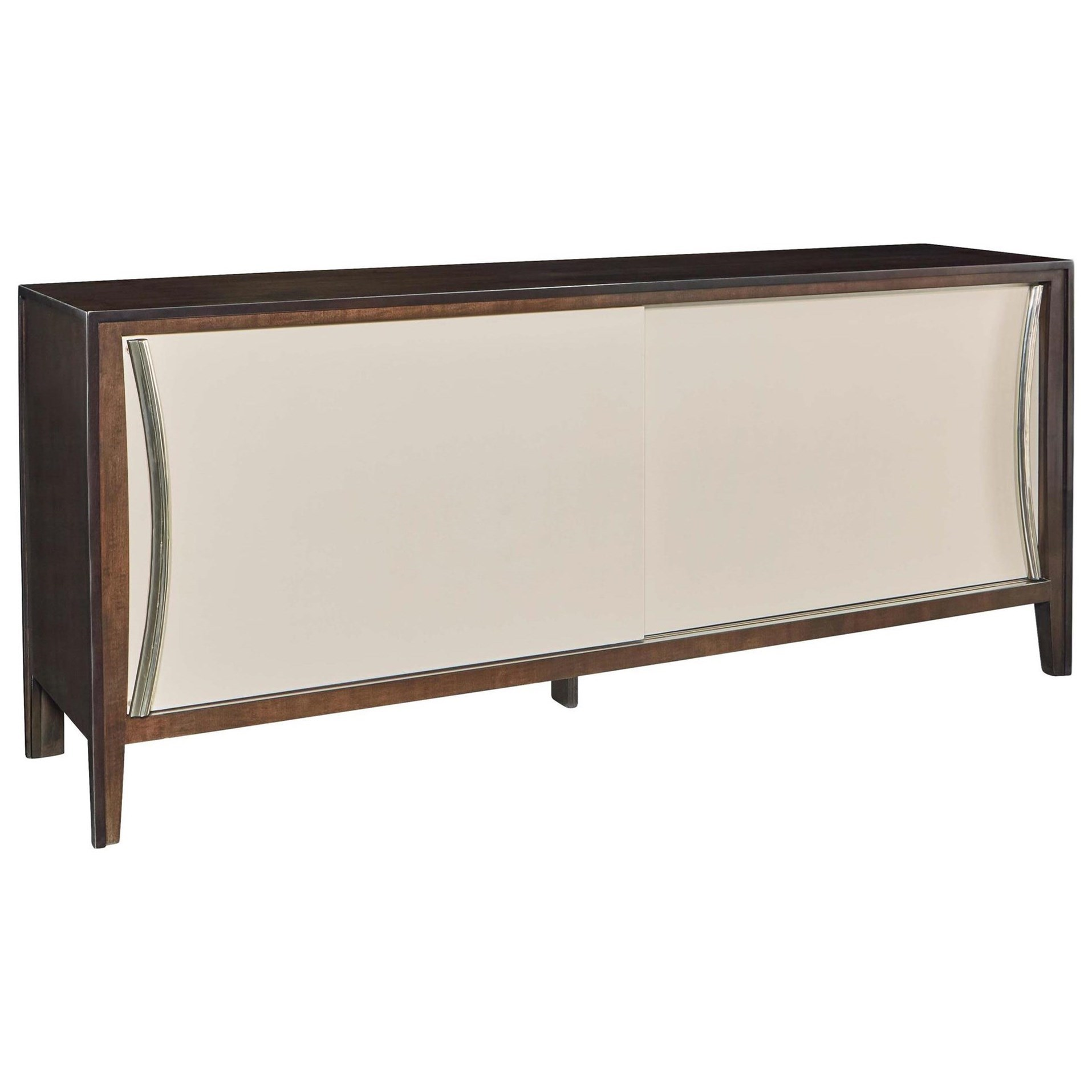 Wall Art Credence Deco La Credence Dining Credenza With Sliding Doors By Fine Furniture Design At Baer S Furniture