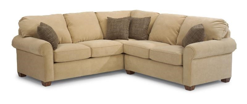 Sectional Bed Sofa Thornton 2 Piece Sectional By Flexsteel At Steger S Furniture