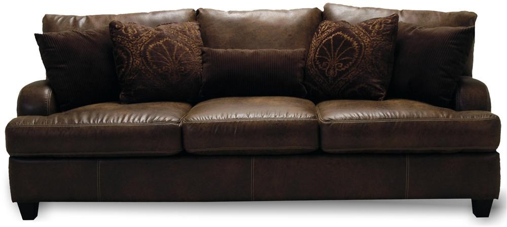 Home Sofa In A Box Franklin 809 Casual Stationary Sofa Moore S Home Furnishings Sofa