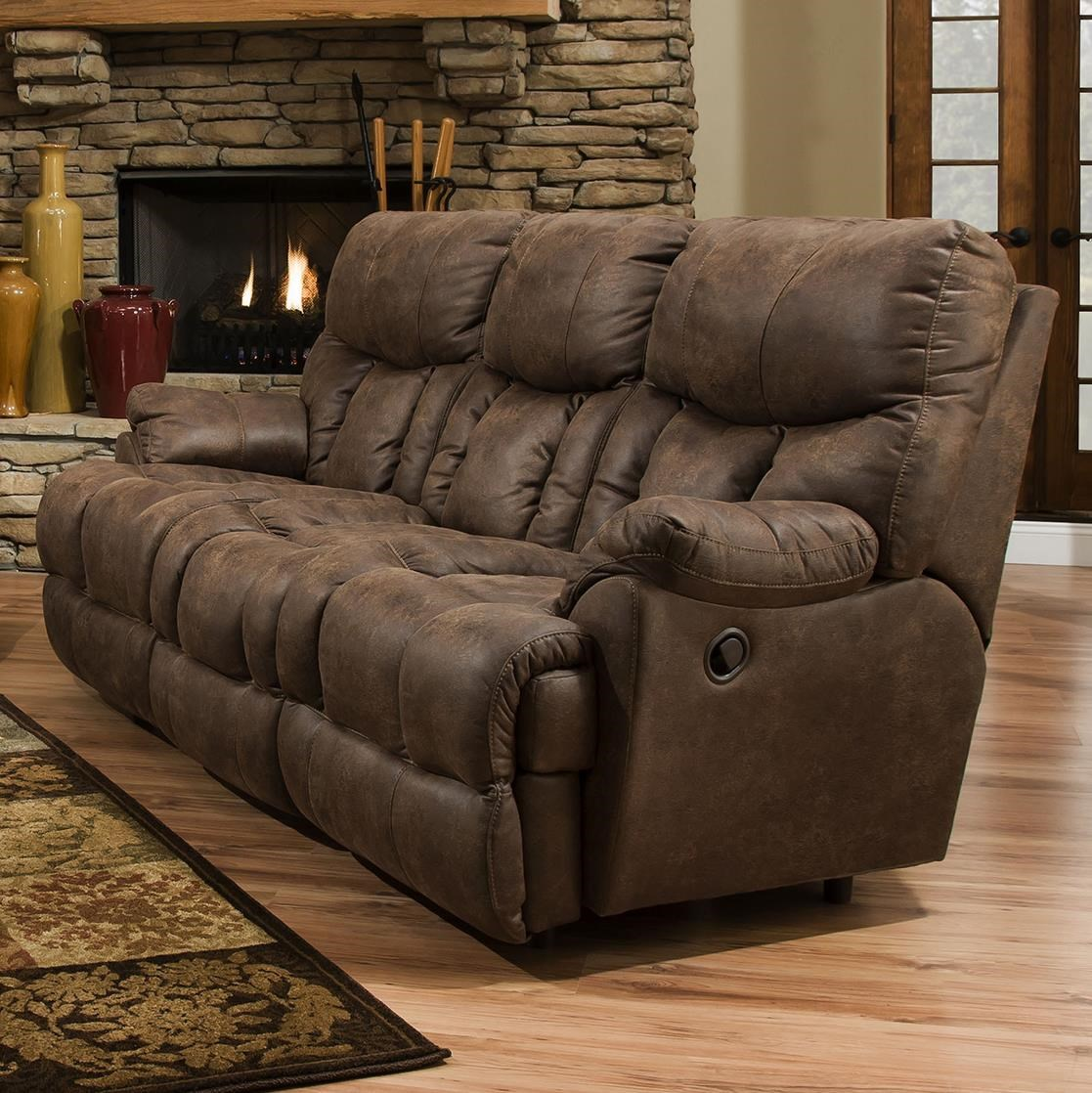 Franklin Mammoth Reclining Sofa With Extra Tall And Wide Seats - Extra Wide Couch