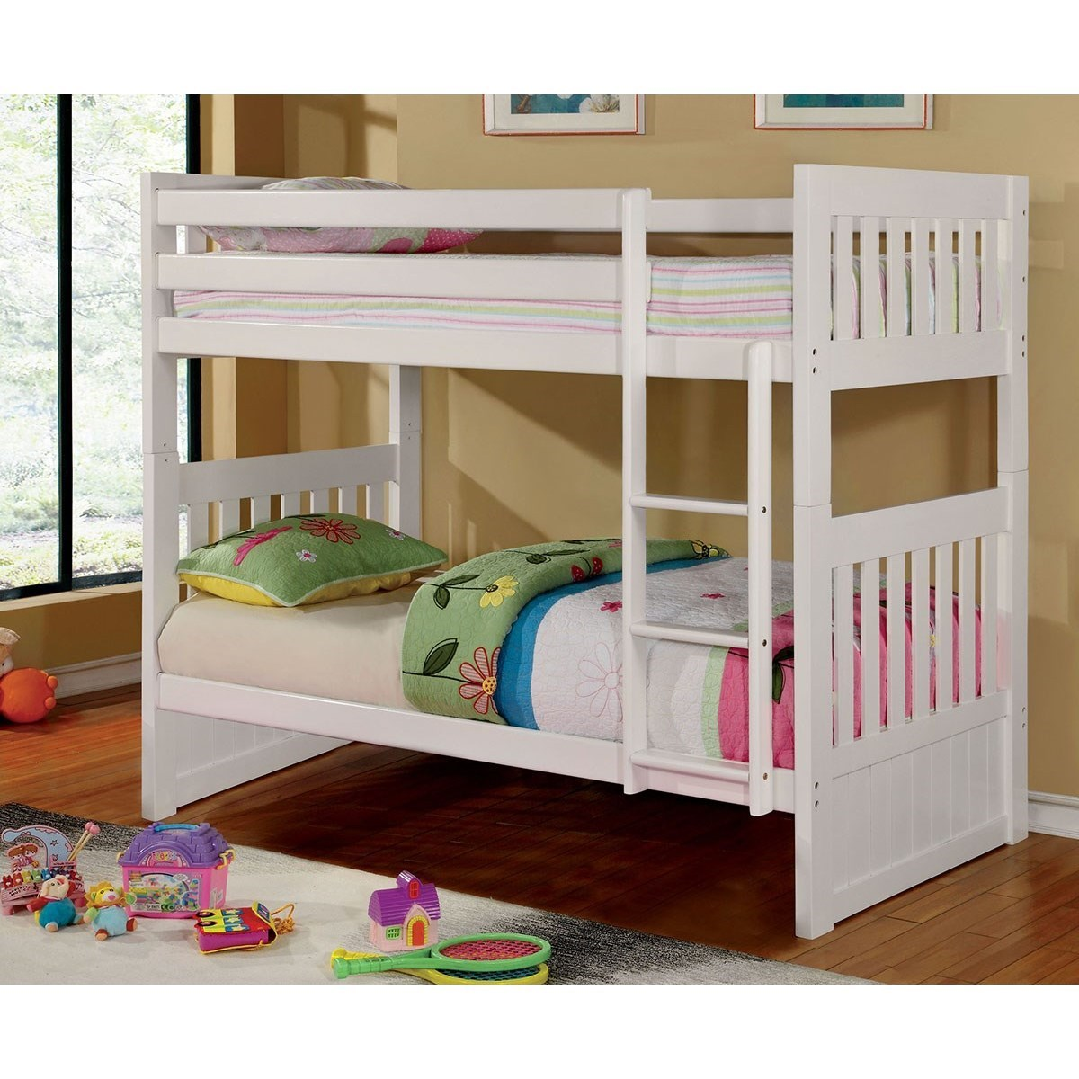 Furniture Stores Canberra Canberra Ii Mission Twin Full Bunk Bed By Furniture Of America At Del Sol Furniture
