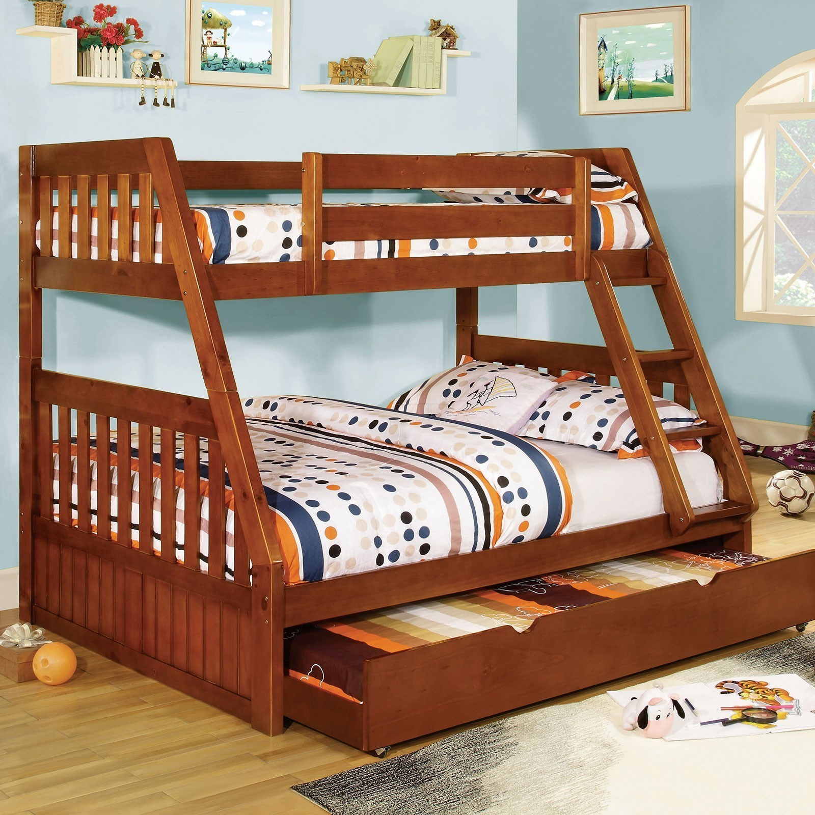 Furniture Stores Canberra Furniture Of America Canberra Cm Bk605a Bed Twin Over Full Bunk