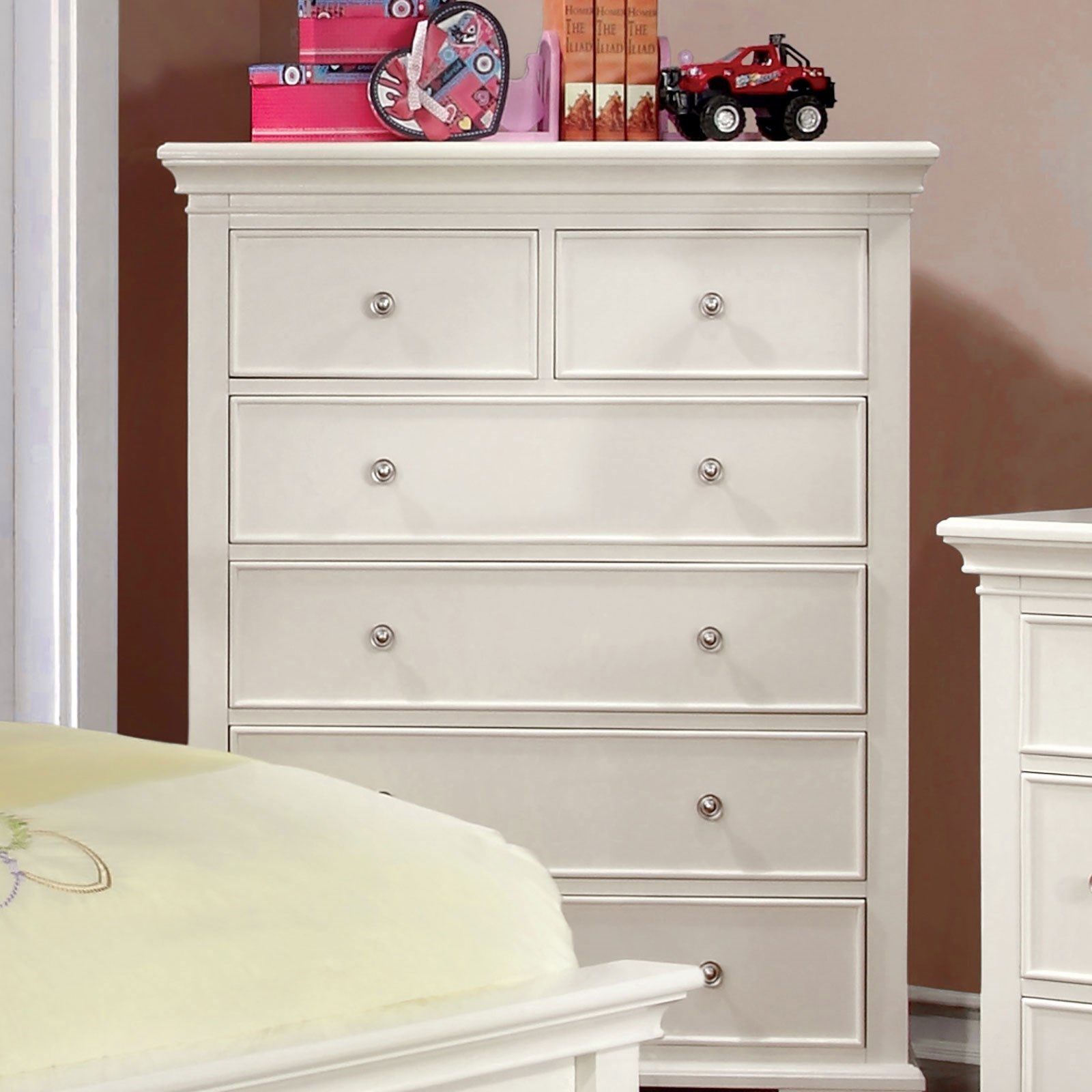 6 Drawer Chest Of Drawers Mullan Transitional 6 Drawer Chest Of Drawers By Furniture Of America At Dream Home Furniture