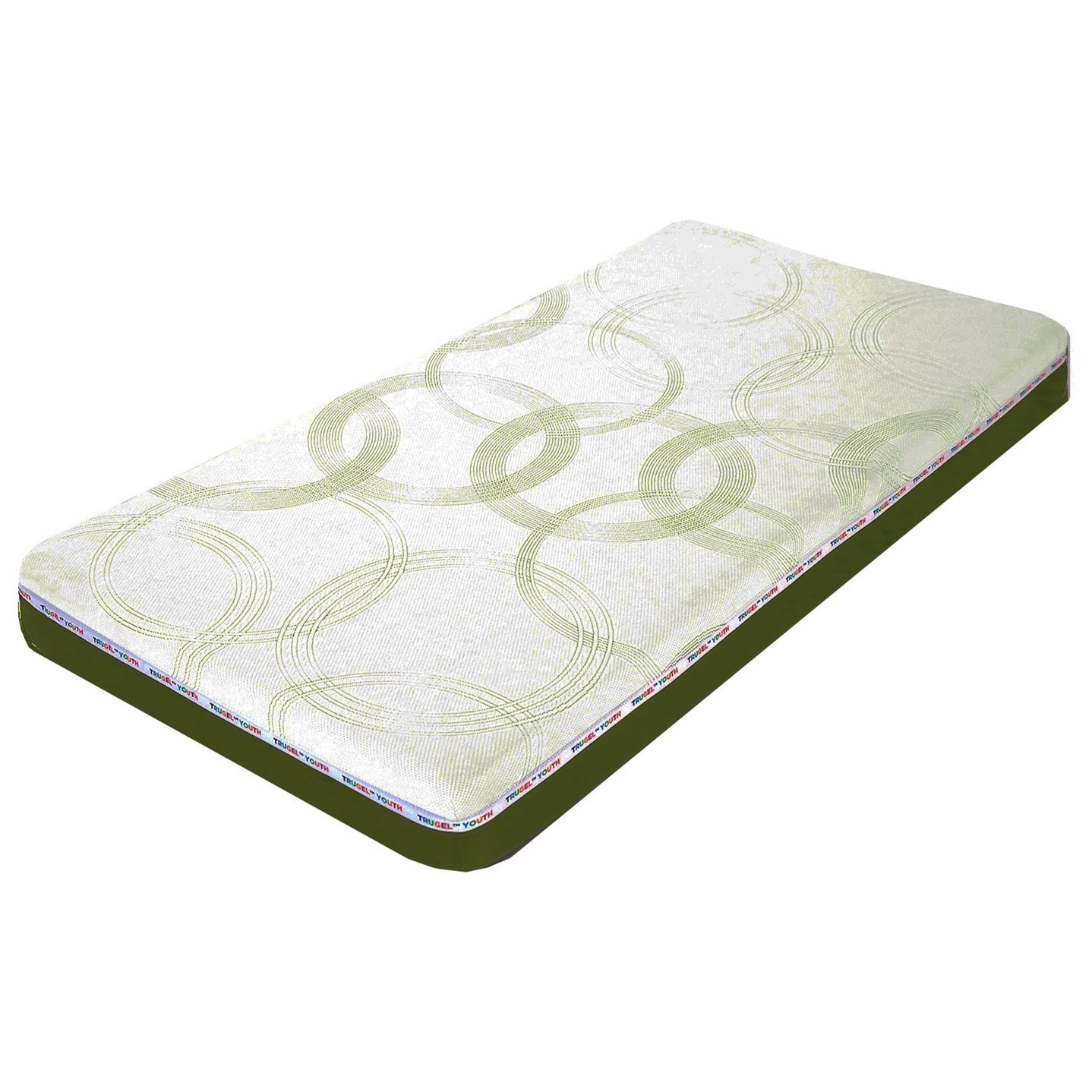 Memory Foam Mattress Guide Glideaway Youth Foam Mattresses Mat Yg18gr F Full Green 7