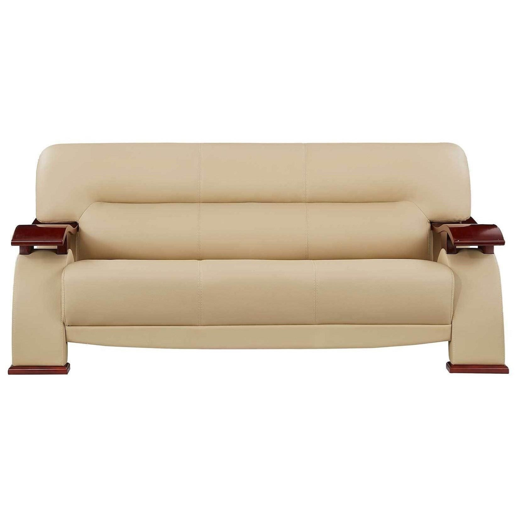 Sofa Couch For Rv Global Furniture U2033 U2033 Rv Cap S Sofa With Wood Arms Corner