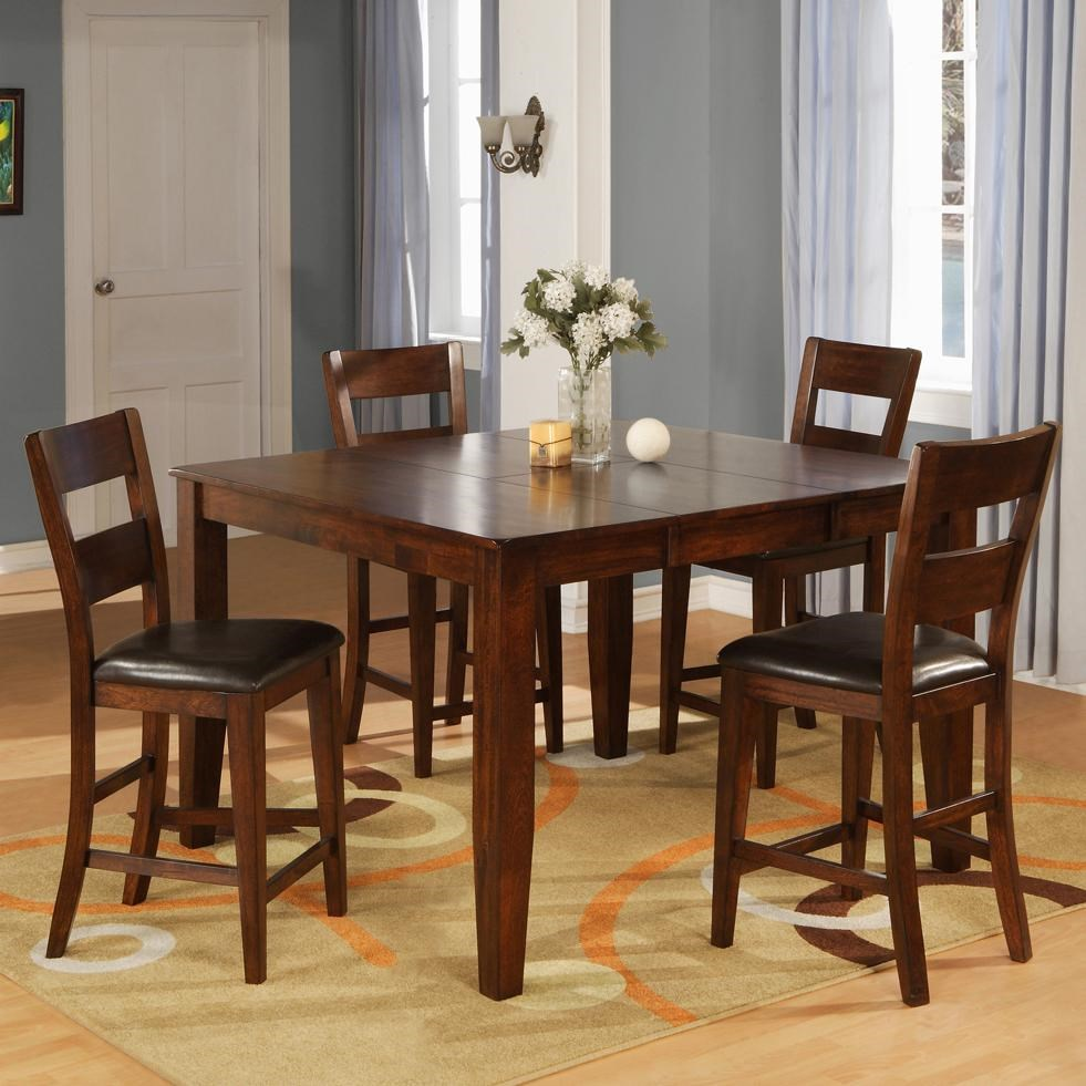 Table And Bar Stools 1279 Mango Counter Pub Table Set With 4 Bar Stools By Holland House At John V Schultz Furniture