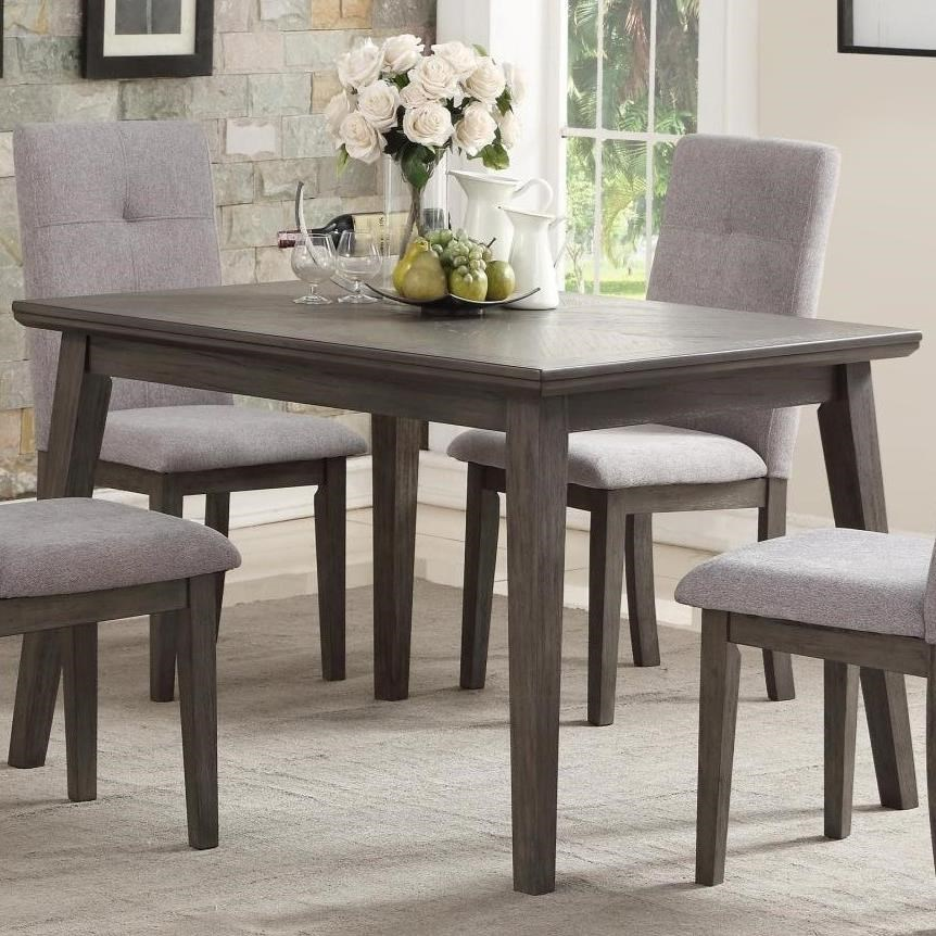 Table Kitchen University Transitional Rectangular Dining Table By Homelegance At Beck S Furniture