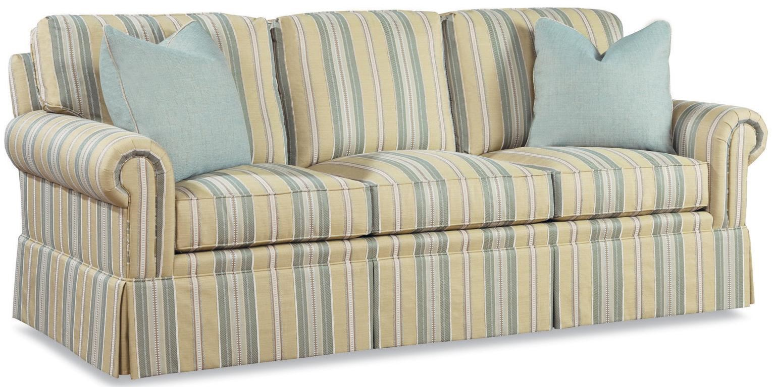 Huntington House Furniture Quality Huntington House 2042 Customizable Three Seat Sofa Sleeper