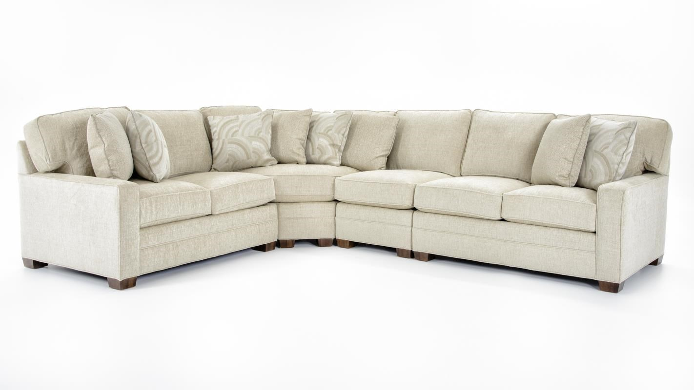Huntington House Furniture Quality Huntington House 2062 2062 Four Piece Four Piece Sectional Sofa