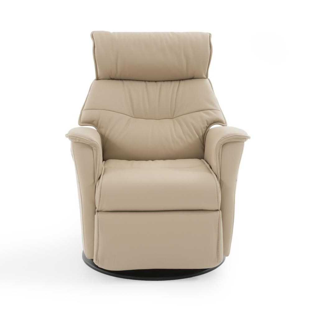 Divani Relaxer Chair Captain Compact Contemporary Recliner With Swivel Glider Base By Img Norway At Baer S Furniture