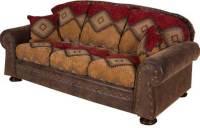 Intermountain Furniture Navajo Southwest Style Sofa ...