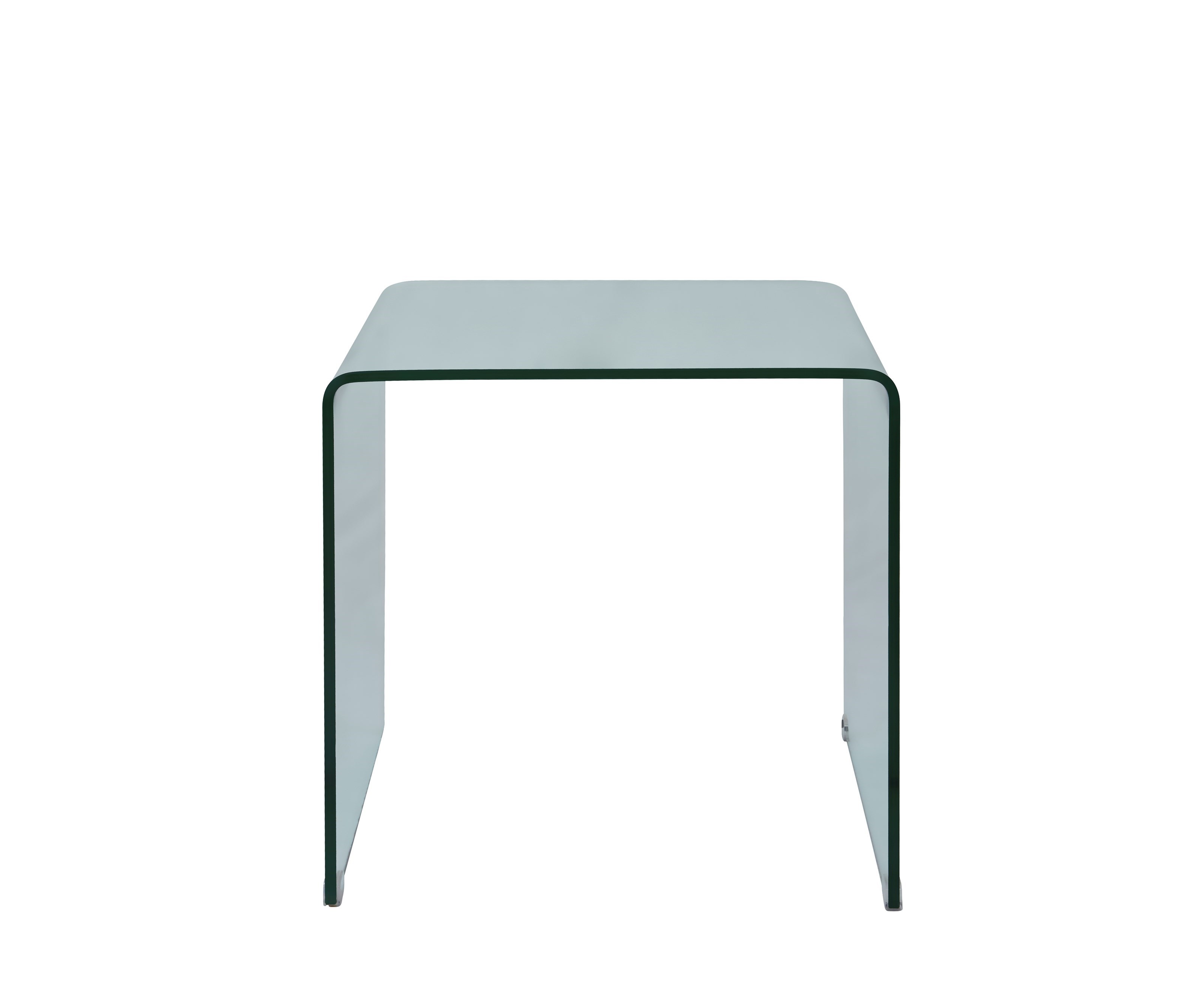 Metal Glass End Tables Clarity Bent Glass End Table By Jofran At Value City Furniture