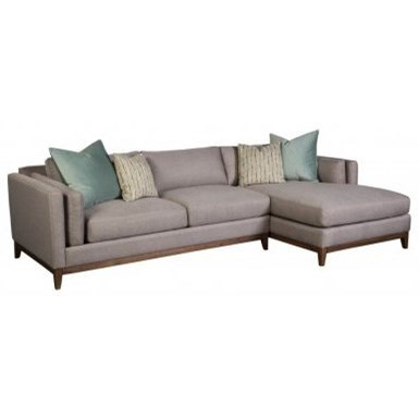 Sofa Dreams Outlet Jonathan Louis Kelsey Modern Sofa With Chaise And Pillow Inside