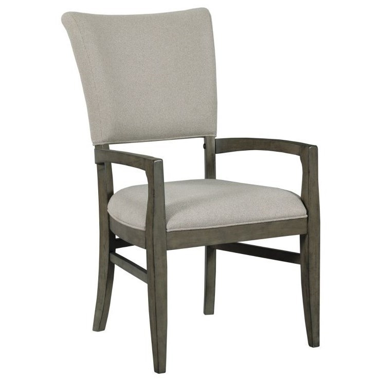 Arm Chairs Cascade Hyde Solid Wood Arm Chair By Kincaid Furniture At Becker Furniture World