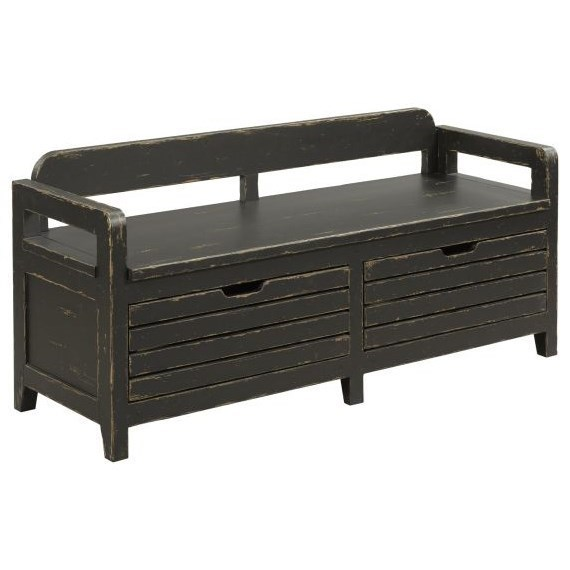 Bed End Storage Mill House Engold Solid Wood Bed End Bench With Storage By Kincaid Furniture At Becker Furniture World