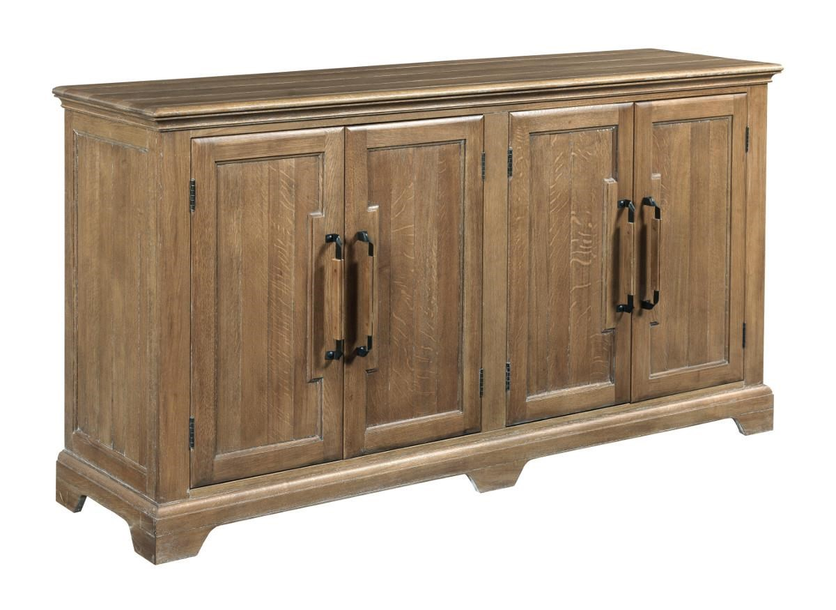 Sideboard Real Kincaid Furniture Stone Ridge Transitional Door Buffet With