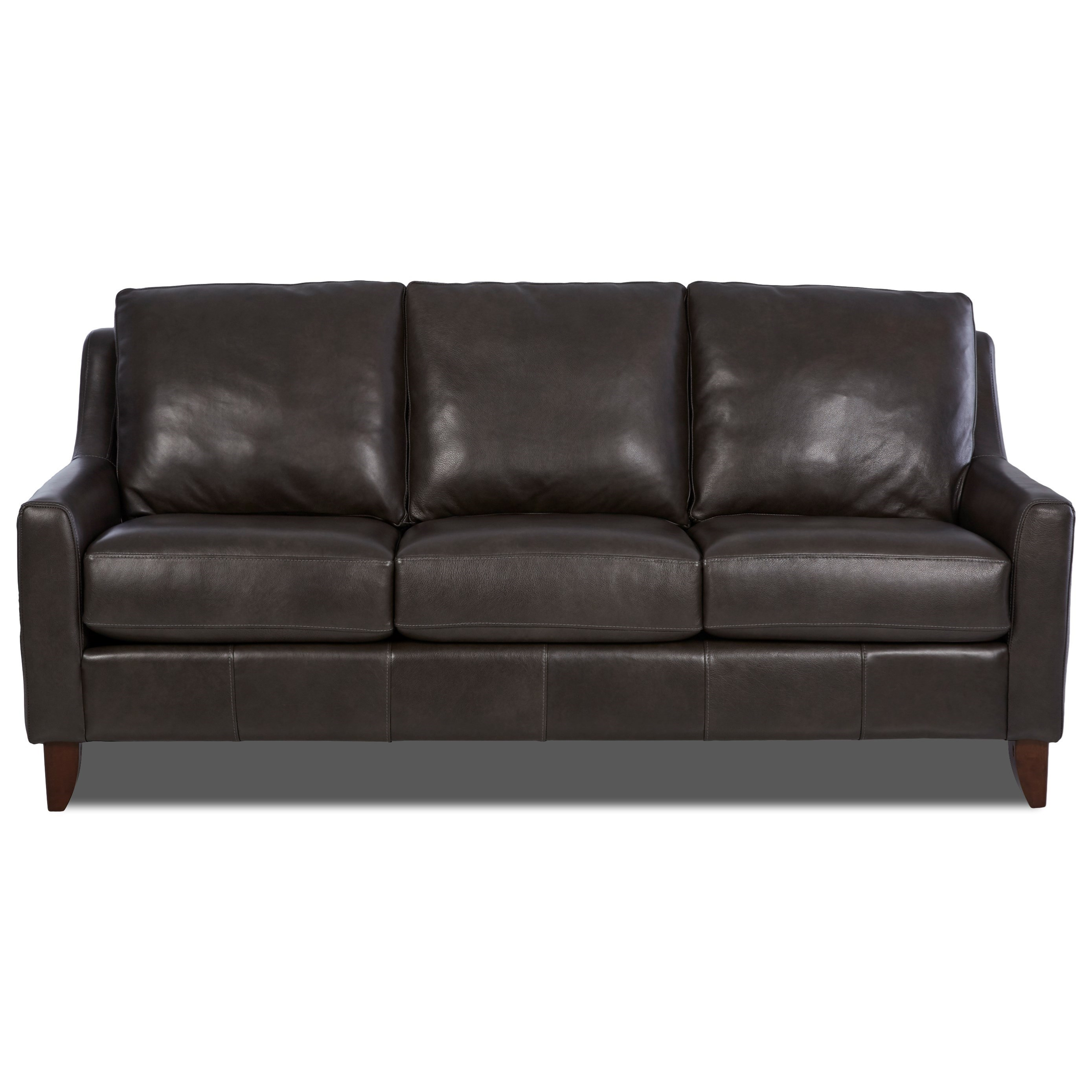 Sofa S Belton Casual Sofa With Track Arms By Klaussner At Wayside Furniture