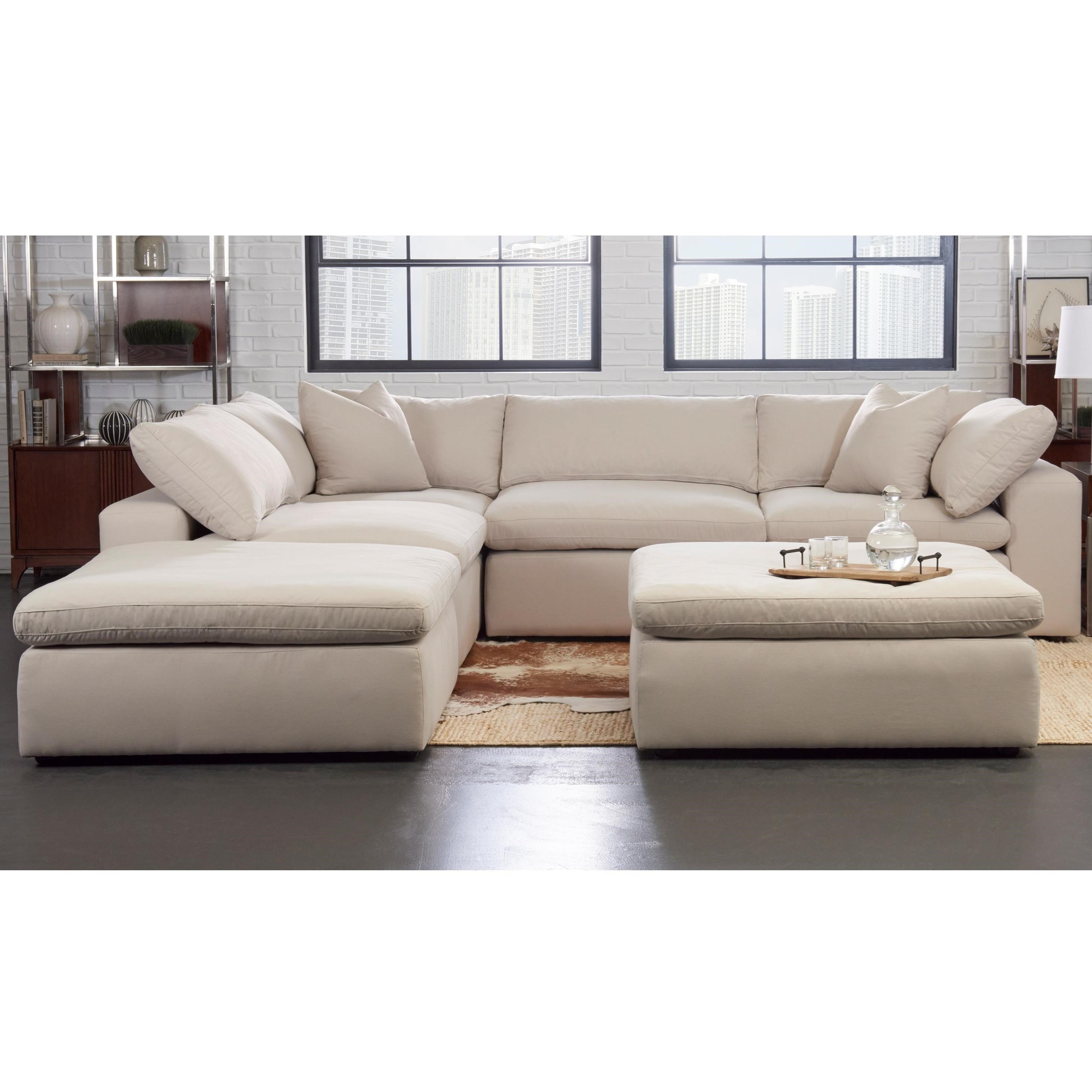 Otto Sale Sofa Elliston Place Monterey Contemporary 5 Pc Modular Sectional Sofa