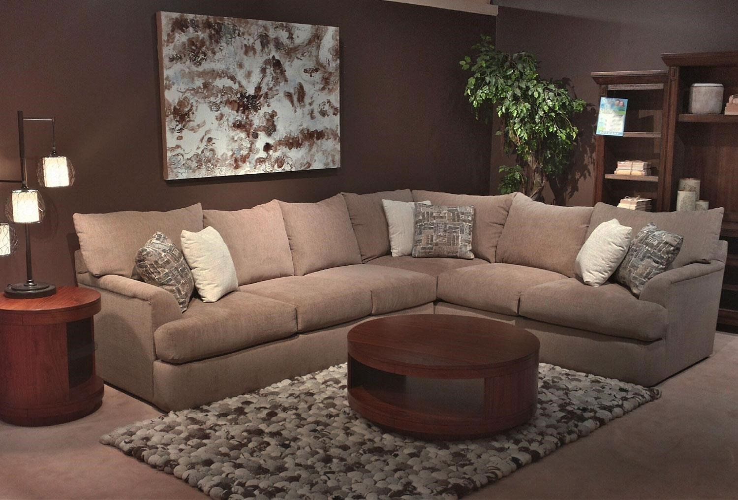 Sofa L Images Shambala Contemporary L Shaped Sectional Sofa By Simple Elegance At Rotmans