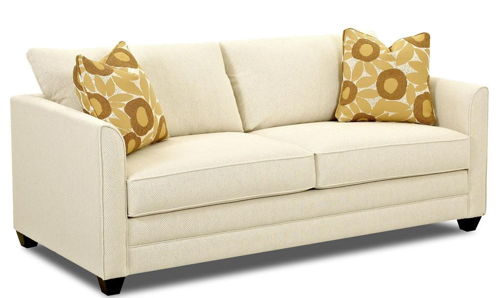 Tilly Fabric Sofa Queen Sleeper Klaussner Tilly K84200 Aqsl Air Coil Queen Sleeper Sofa Hudson S