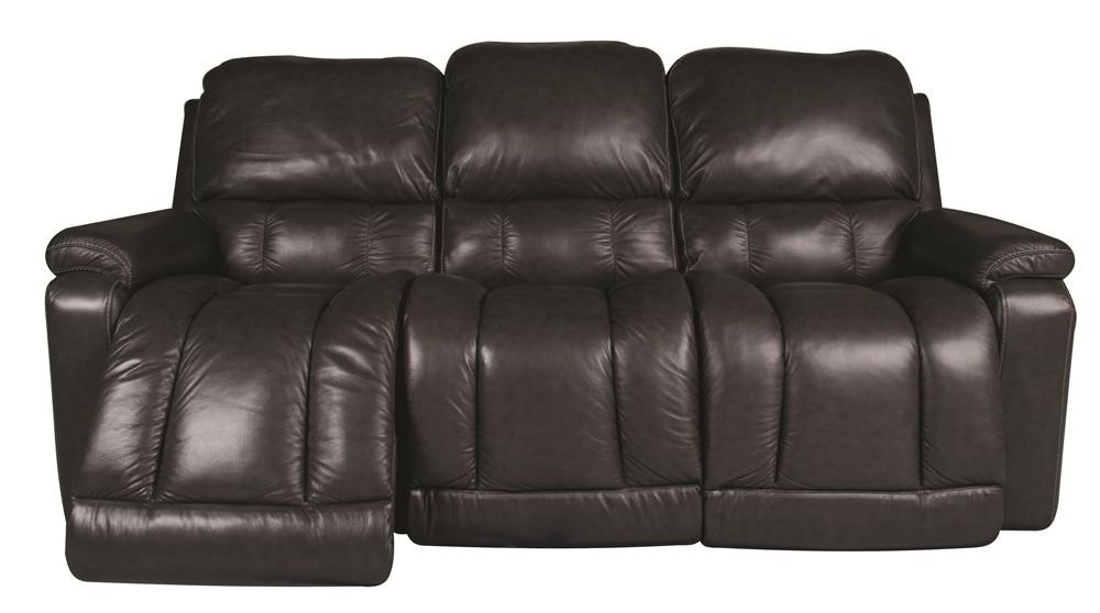 Sofa With Recliner Greyson Leather Reclining Sofa By La Z Boy At Morris Home