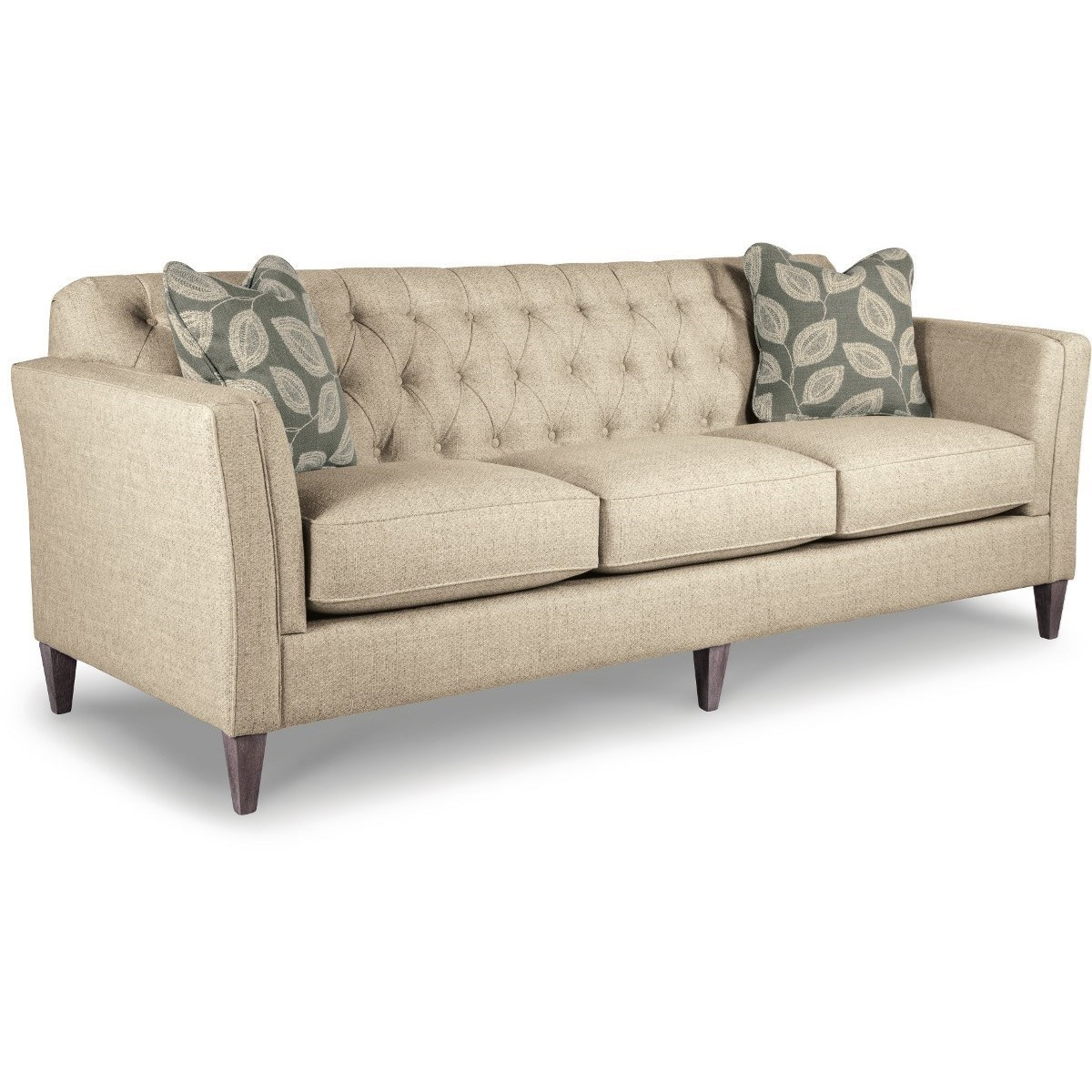 Sofa S La Z Boy Alexandria Transitional Premier Sofa With Chesterfield