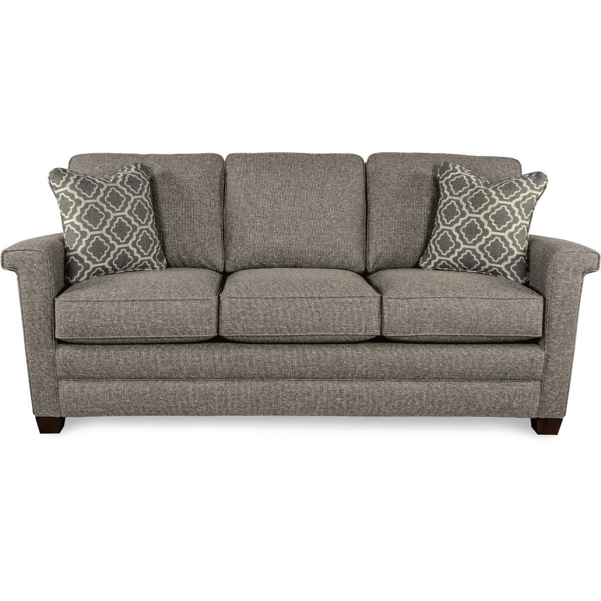 Contemporary Couch Bexley Contemporary Sofa By La Z Boy At Godby Home Furnishings
