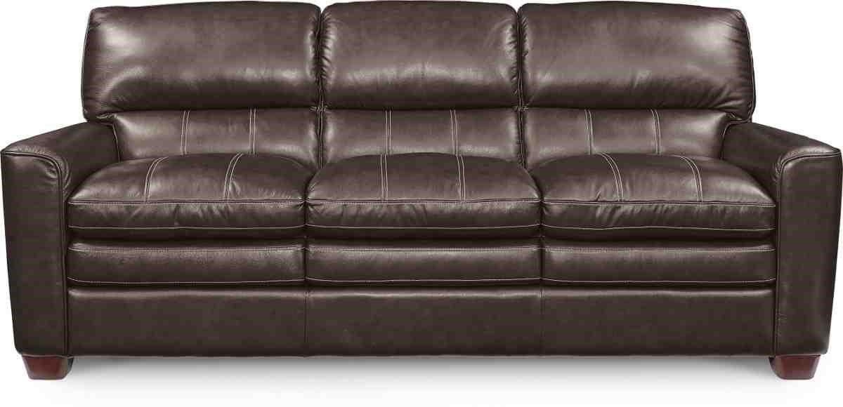 Leather Sofa La Z Boy 989 By La Z Boy At Bennett S Furniture And Mattresses