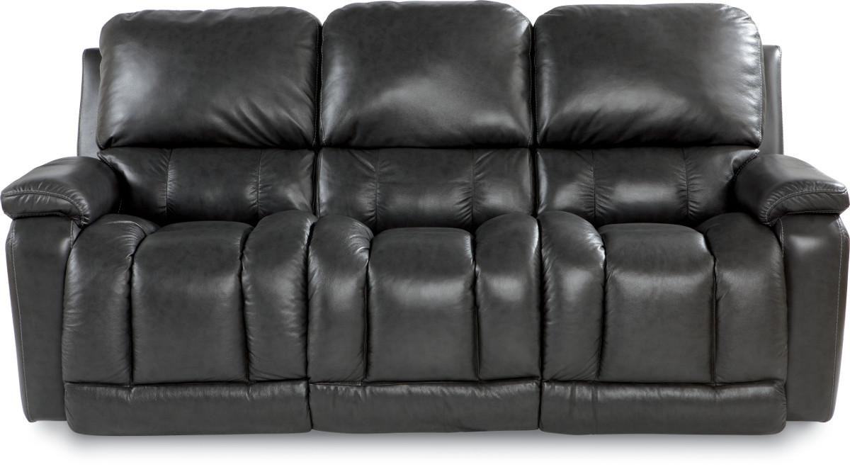 Leather Sofa La Z Boy Greyson Casual Power La Z Time Full Reclining Sofa With Bucket Seating By La Z Boy At Walker S Furniture